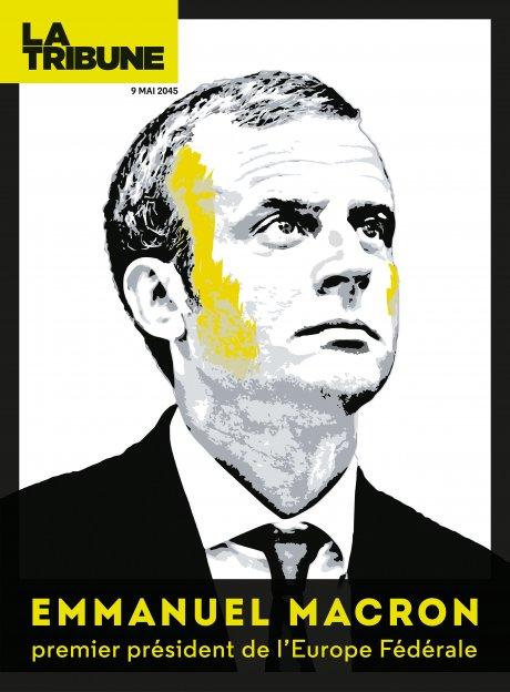 Une - Emmanuel Macron