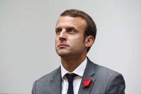Emmanuel Macron en juillet  2015 French Tech