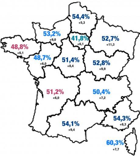 régionales carte participation