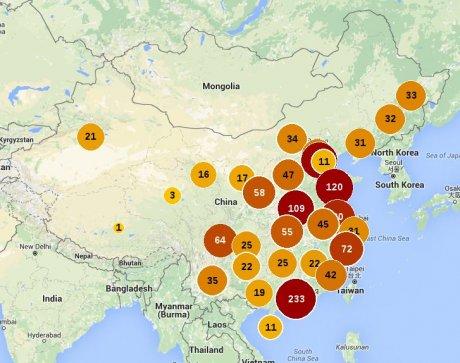 Grèves et mouvements de travailleurs en CHine