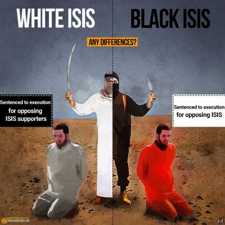Daech Arabie saoudite différences dessins Khamenei Iran