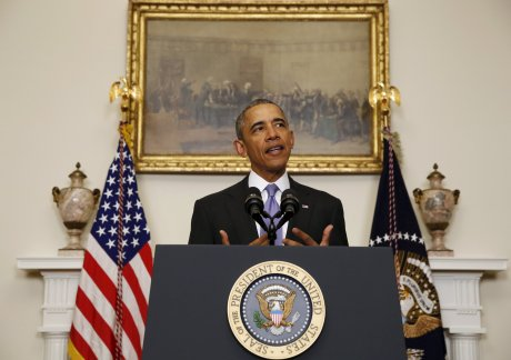 Barack obama se felicite que l'iran ne puisse pas se doter de l'arme atomique