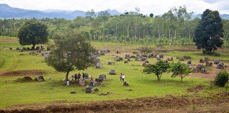 Le plateau de Phonsavan