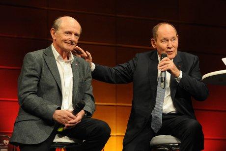 Discussion entre Jean-Louis Etienne et René Ricol à l'occasion du 10e Prix de l'esprit d'entreprendre