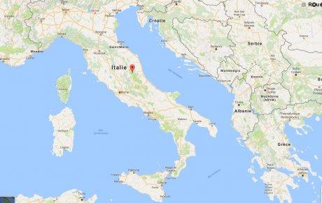 Séisme, Italie, Pescara del Tronto, Marches,