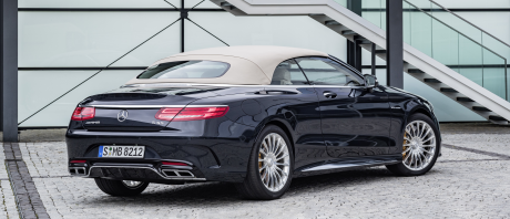 Mercedes AMG Classe S 63 cabriolet