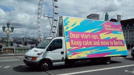 L'appel de Berlin aux startups londoniennes