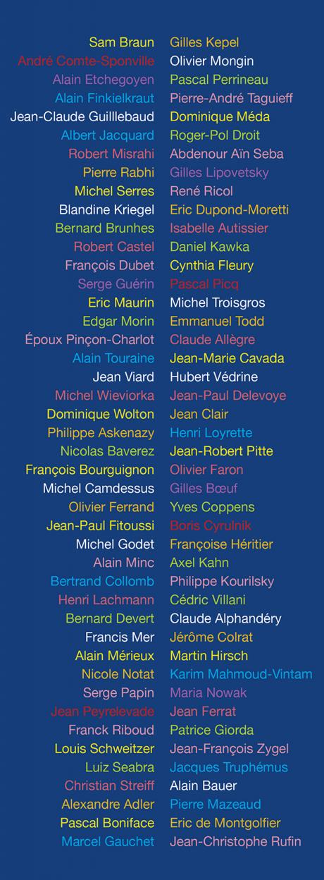 Livres | Tout homme - Liste personnalités