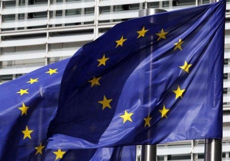 Europe, drapeau, Commission européenne, Bruxelles, flag, france candidate pour le demenagement d'agences europeennes de londres
