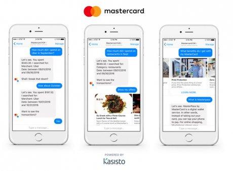 Mastercard chatbot