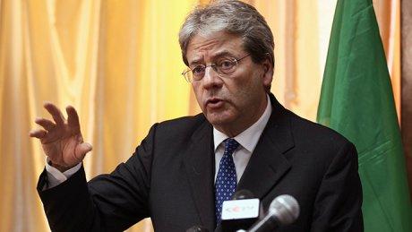 Italie Paolo Gentiloni Matteo Renzi