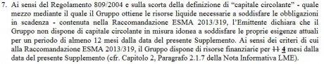Monte Paschi liquidités