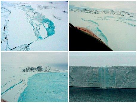 Iceberg géant, océan antarctique, banquise, glacier, fonte des glaces, réchauffement climatique, Chili, Terre de feu, Cap Horn, pôle Sud, Larsen,