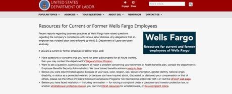 Wells Fargo scandale DoL