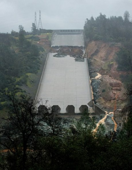 Barrage, Oroville,