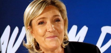 Le pen indesirable en ukraine