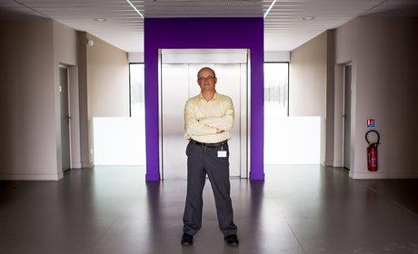 Eric Mottay, président d'Amplitude Laser group