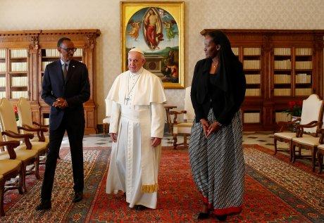 Pape François Paul Kagamé