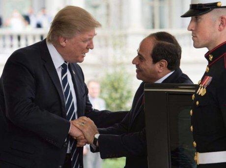 Donald Trump Al Sissi