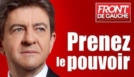 Jean-Luc Mélenchon à la campagne présidentielle de 2012