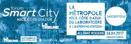Smart City Nice avec La Tribune