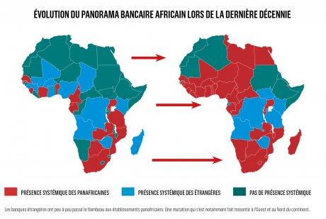Carte banques afrique fmi