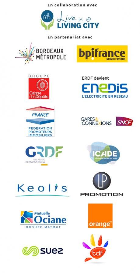 Smart City Bordeaux visuel partenaires