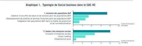 Typologie de Social business dans le CAC 40