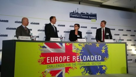 Brexit Frankfurt Finance Summit