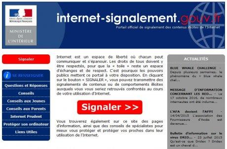 Site Signalement Phishing