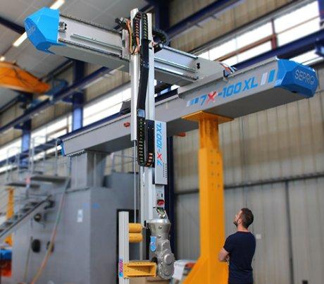 Sepro Group 2, robotique, Pays de la Loire,