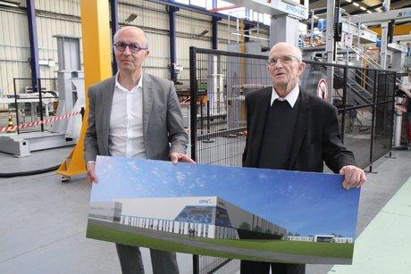 Sepro Group 6, Jean-Michel Renaudeau, DG, et Paul Radat fondateur,