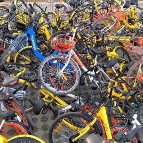 VLS Chine vélos en libre service