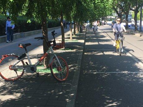 Vélos partagés Chine Pékin VLS