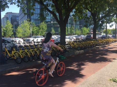 VLS vélos partagés Pékin Chine