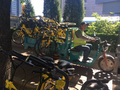 VLS Chine Pékin vélos partagés