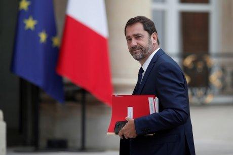 Christophe Castaner, le Secrétaire d'Etat chargé des relations avec le Parlement et porte-parole du gouvernement