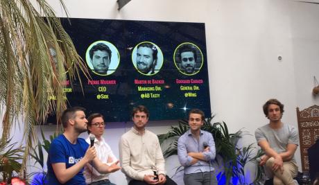 Lors de la conférence organisée par GoCardless, les quatre intervenants ont livré leurs conseils au futurs startuppers français envisageant de franchir la Manche pour implanter leur jeune pousse.