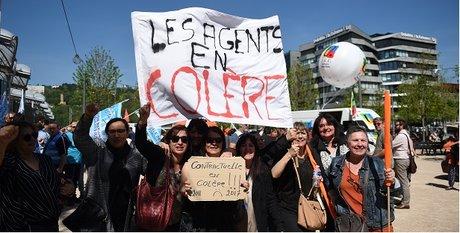 Grève région Auvergne-Rhône-Alpes