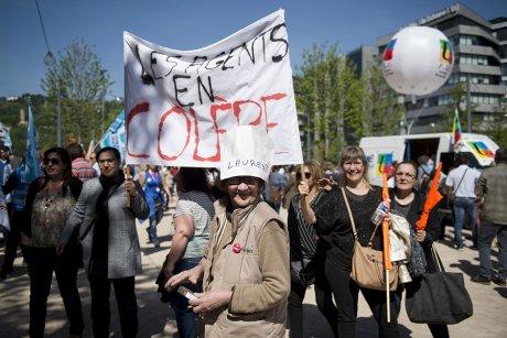 Manifestation région Auvergne-Rhône-Alpes