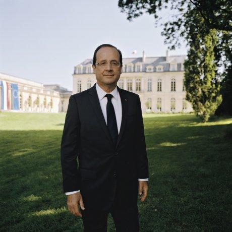 Hollande, portrait officiel,