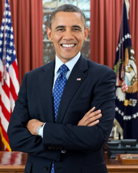 Obama, portrait officiel,