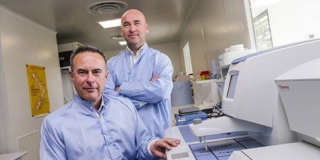 Bruno Brisson et Fabien Guillemot, Poietis