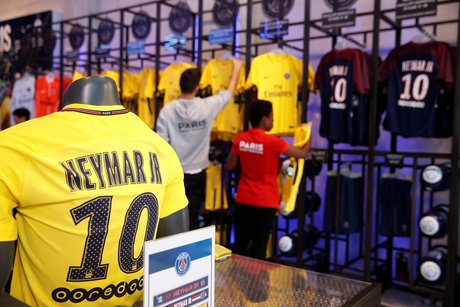 Maillot de Neymar du PSG