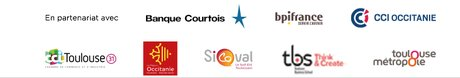Logos partenaires Biznext