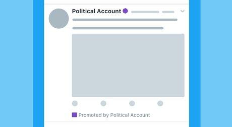 twitter pub politiques
