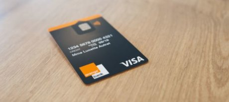 Orange Bank Visa carte