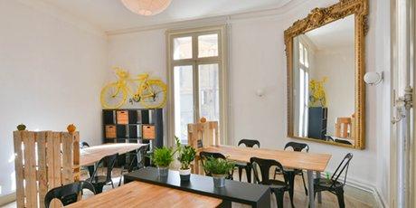 L'espace de coworking La Ruche à Montpellier, ouvert le 1e octobre 2017