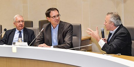 Gilles Recour et Laurent Pradeilles