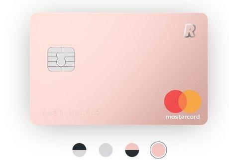 carte Revolut Mastercard néobanque